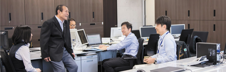社内の風景写真